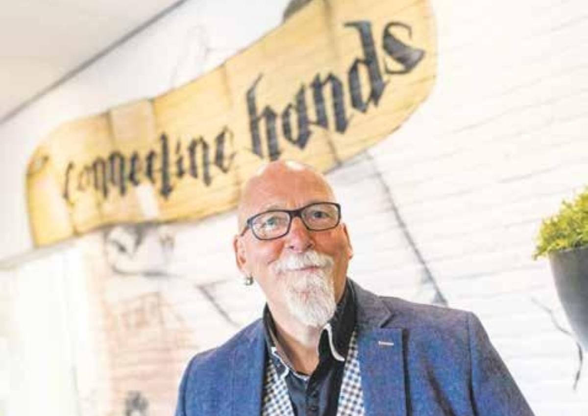 Jan Stuve, oprichter van Connecting Hands: zorginstelling en opdrachtgever Accent.